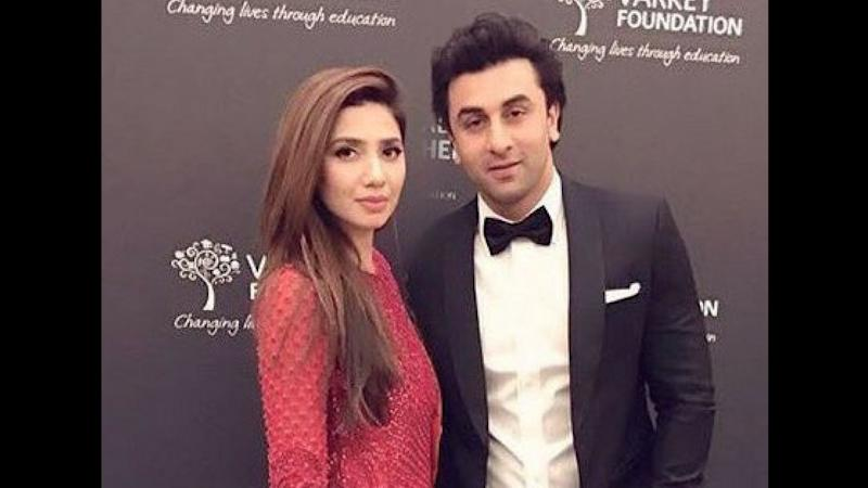 You've Got to Watch Ranbir Kapoor & Mahira Khan's Camaraderie