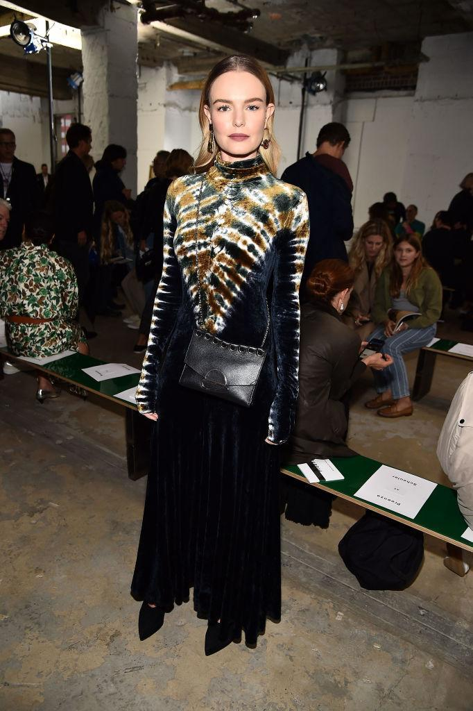 <p>Kate Bosworth attends Proenza Schouler's Spring 2019 show during New York Fashion Week at 30 Wall Street on September 10, 2018 in New York City. (Photo: Theo Wargo/Getty Images) </p>