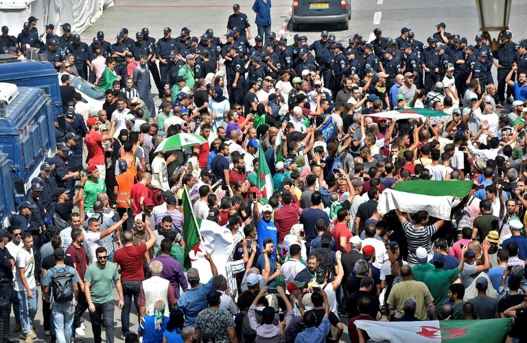 Friday's protest marked the 31st consecutive week of rallies in Algeria (AFP Photo/RYAD KRAMDI                         )