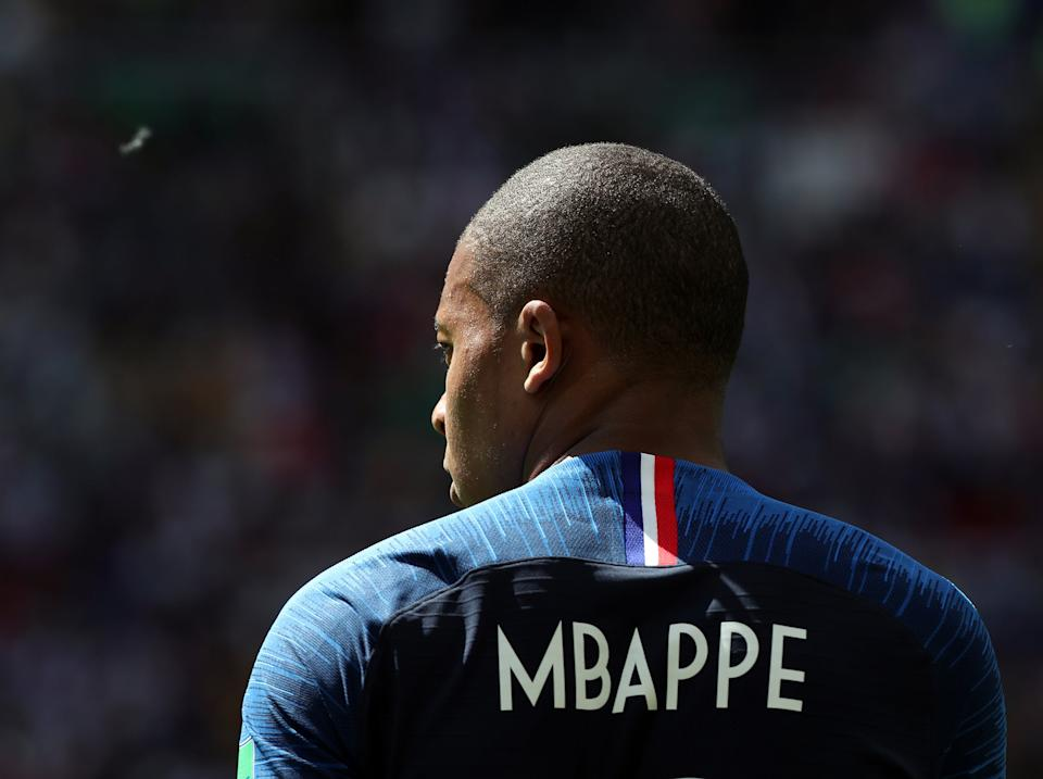 France and PSG forward Kylian MbappeGetty Images