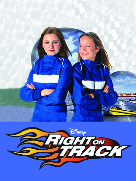 <p>Future Oscar winner Brie Larson (<i>Room</i>) stars in this heart racing drama about two young women who seek to accelerate in the male-dominated world of drag racing. Based on a true story sort of, doesn't matter!<br><br><i>(Credit: Disney Channel)</i> </p>