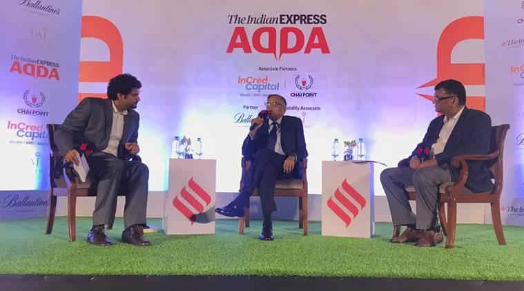 N Chandrasekaran, N Chandrasekaran express adda, express adda, tata sons, tata group, indian express