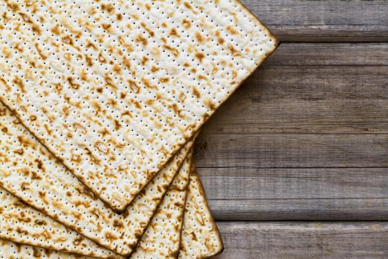 During Passover Jews eat matzah, which is unleavened bread (Getty Images/iStockphoto)