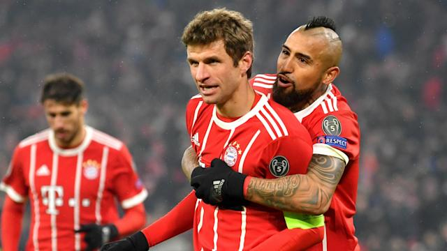 The German giants scored five goals in the first leg of their last-16 tie against Besiktas but two senior stars were not completely happy afterwards