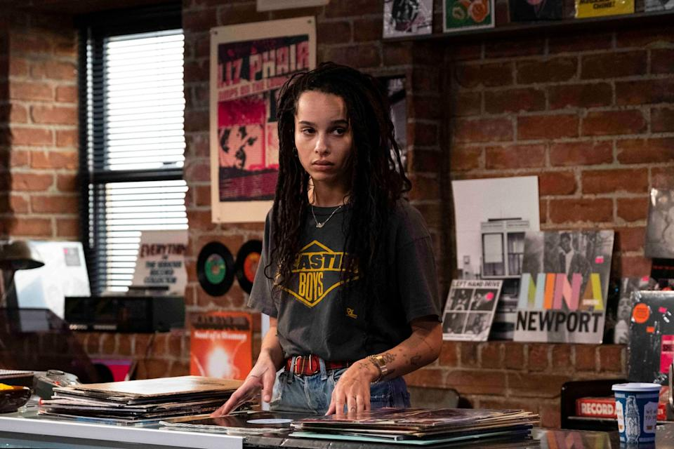 HIGH FIDELITY, Zoe Kravitz, Top Five Heartbreaks, (Season 1, Episode 101, aired Feb. 14. 2020). photo: Phillip Caruso / Hulu / Courtesy Everett Collection