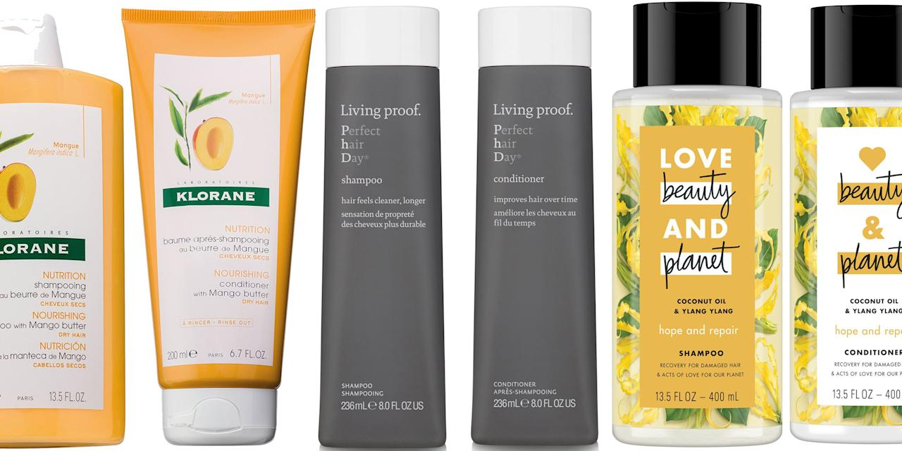 <p>When it comes to shampoo and conditioner, you might be the type to try something new every time, or it's possible you've used the same two bottles for years. Either way, it might be time to ask yourself if you're using the <em>right</em> pair for your hair. From color-treated to frizz-fighting to anti-aging (yes, it's a thing), we rounded up the must-have shampoos and conditioners to wash, rinse, and repeat for your best locks yet.</p>
