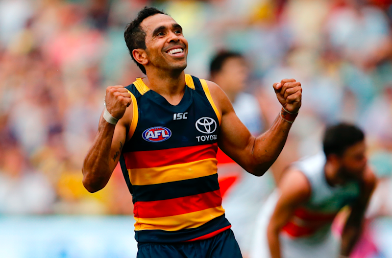 The latest alleged incident of racial vilification in the AFL comes a fortnight after indigenous Crows player Eddie Betts was targeted by an offensive slur. Photo: Getty.