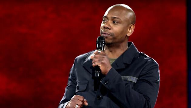 Watch A New Trailer For Dave Chappelle's Upcoming Stand-Up Specials class=