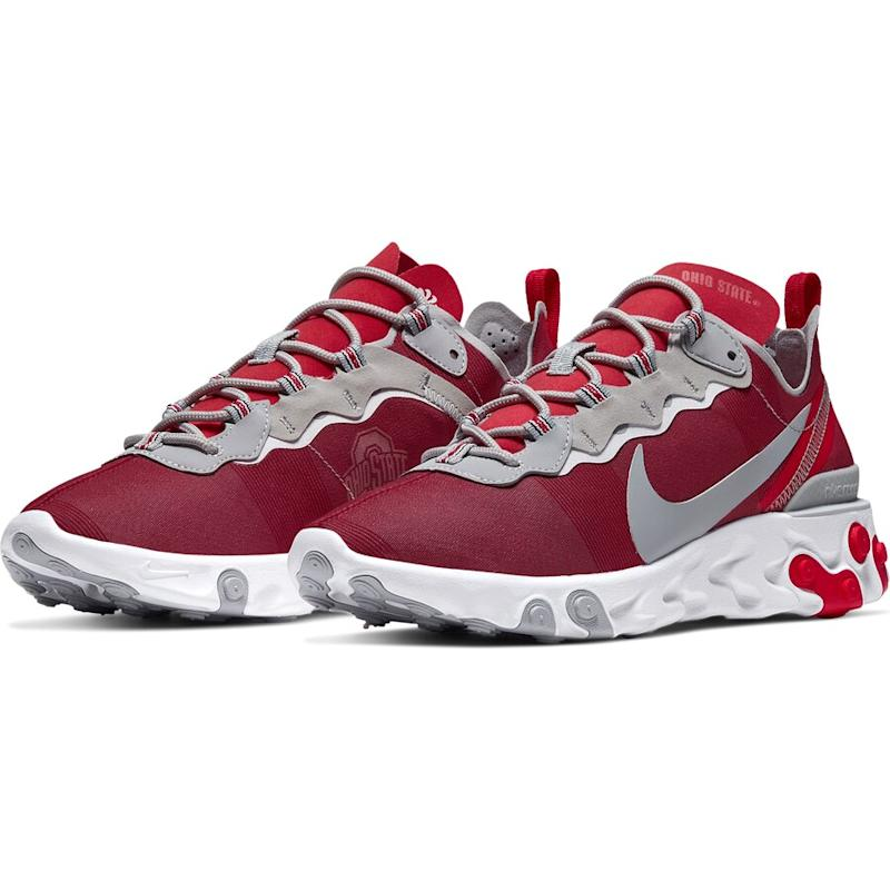 Ohio State Buckeyes React Element 55 Sneakers
