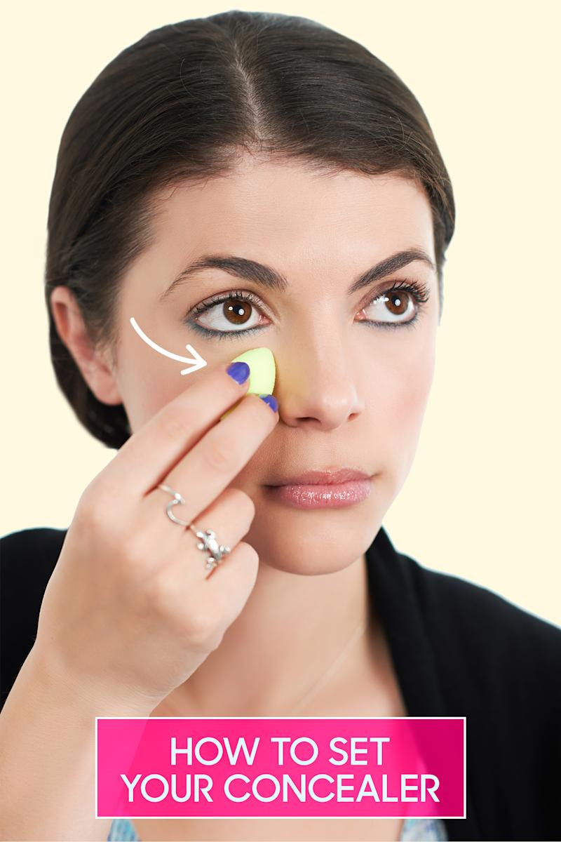 Under Eye Makeup Brush: How To Stop Your Under Eye Concealer From Creasing