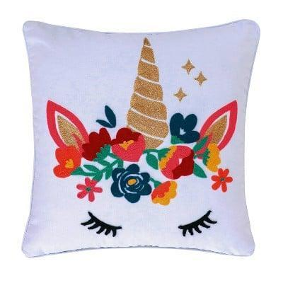 <p>The <span>Monique Embroidered Unicorn Pillow</span> ($30) is a subtle way to showcase your love for unicorns.</p>