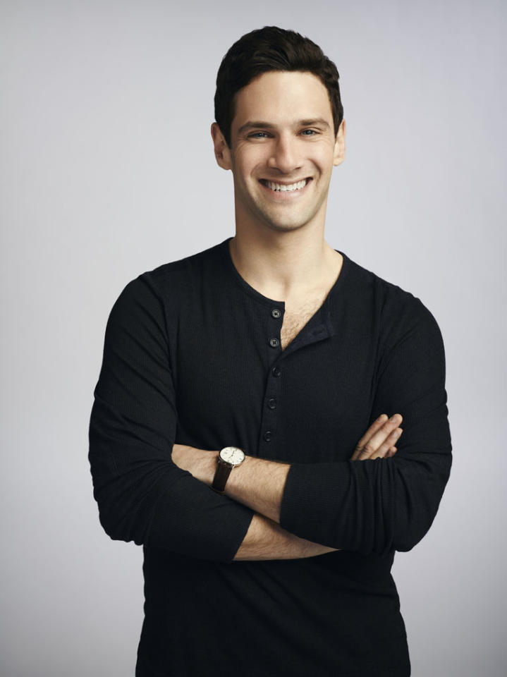 """Justin Bartha stars as David in """"The New Normal"""" on NBC."""
