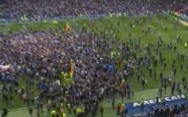 <span>The scene at the Amex</span>