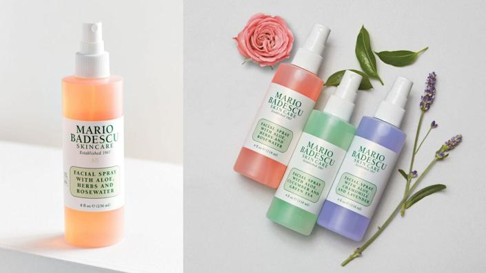 Best affordable gifts that look expensive: Mario Badescu Facial Spray