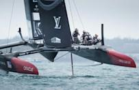 Oracle Team USA beat Kiwis in key America's Cup qualifier