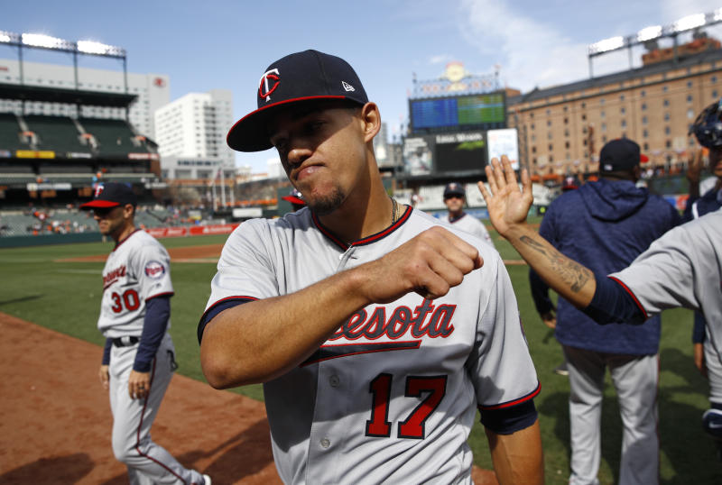 Twins starter Jose Berrios dominated the Orioles on Sunday in a complete game. (AP)