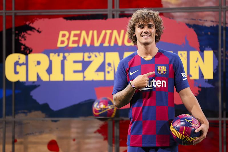 Antoine Griezmann hopes to fire Barca to Champions League glory (Photo by Adria Puig/Anadolu Agency/Getty Images)