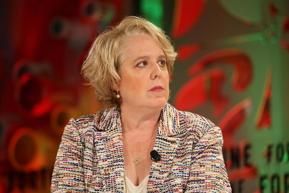 """<div class=""""inline-image__caption""""><p>Roberta Kaplan stepped down from Time's Up last month amid allegations the group put powerful allies ahead of its mission.</p></div> <div class=""""inline-image__credit"""">Phillip Faraone/Getty</div>"""