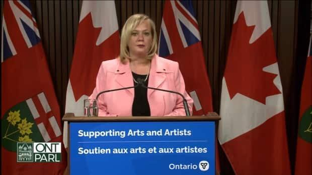 Lisa MacLeod, Ontario's minister of Heritage, Sport, Tourism and Culture Industries, announced on Tuesday morning $25 million in financial support for the arts sector to offset COVID-19 losses.