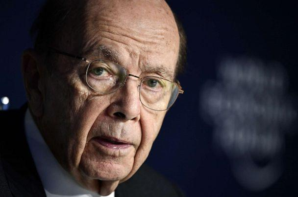 PHOTO: Secretary of Commerce Wilbur Ross attends during the World Economic Forum in Davos, Switzerland, on Jan. 22, 2020. (AFP via Getty Images, FILE)