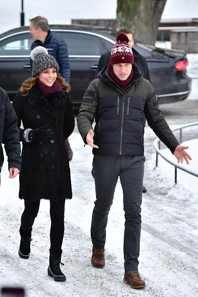 The Duke and Duchess of Cambridge have kicked off their royal tour of Sweden and Norway. (Photo: PA)