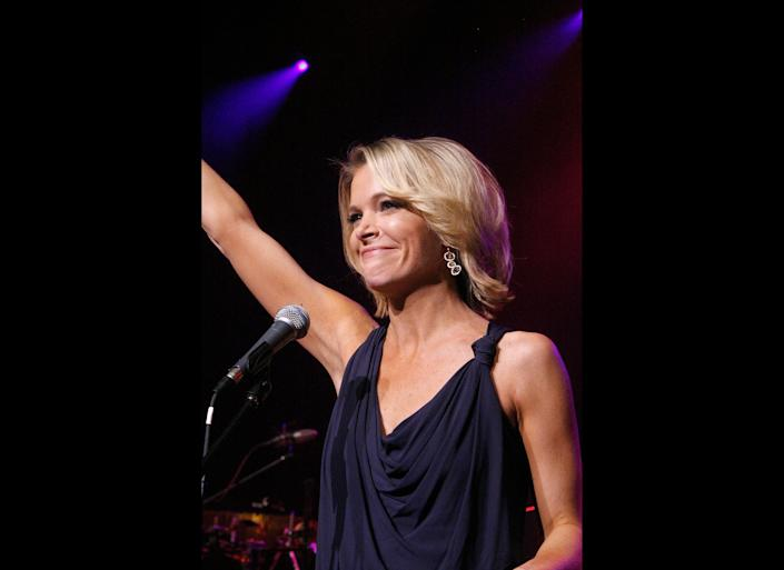 NEW YORK, NY - APRIL 27: Megyn Kelly attends at the benefit concert for Army SPC Bryan Dilberain at the Brooklyn Center for the Performing Arts on April 27, 2012 in the Brooklyn borough of New York City. (Photo by Andy Kropa/Getty Images)