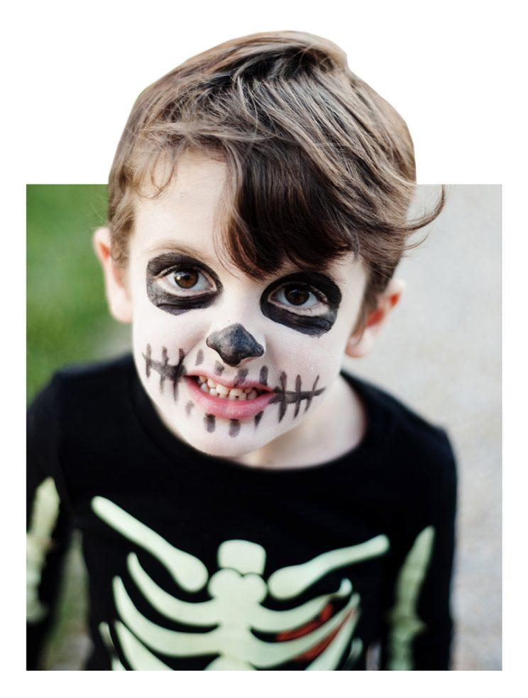 Halloween makeup is shockingly under regulated. (Photo: Stocksy)