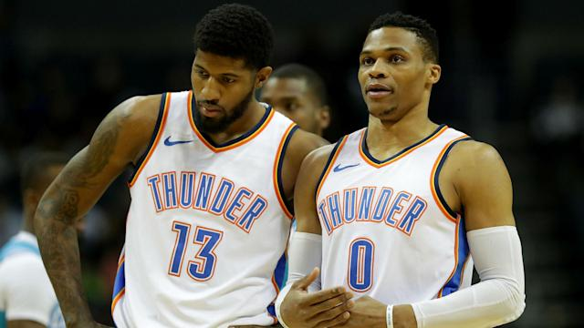 A deal with OKC would give George another season to see if playing with Russell Westbrook can lead to a championship.