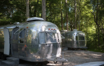 """<p><strong><a href=""""https://www.airbnb.com/rooms/17862490"""" rel=""""nofollow noopener"""" target=""""_blank"""" data-ylk=""""slk:1972 Airstream Ambassador Glamp Newport"""" class=""""link rapid-noclick-resp"""">1972 Airstream Ambassador Glamp Newport</a>: Portsmouth, Rhode Island</strong></p><p> Go for a vintage vibe when you stay in one of these 1972 Airstreams, which has been fully remodeled and feels both old-school and fresh. It's on a campground only five miles away from downtown Newport and close to Providence, and a hike away from the beach. It's small and cozy, but there's running water and a bathroom, as well as a fire pit to sit around at night. </p>"""