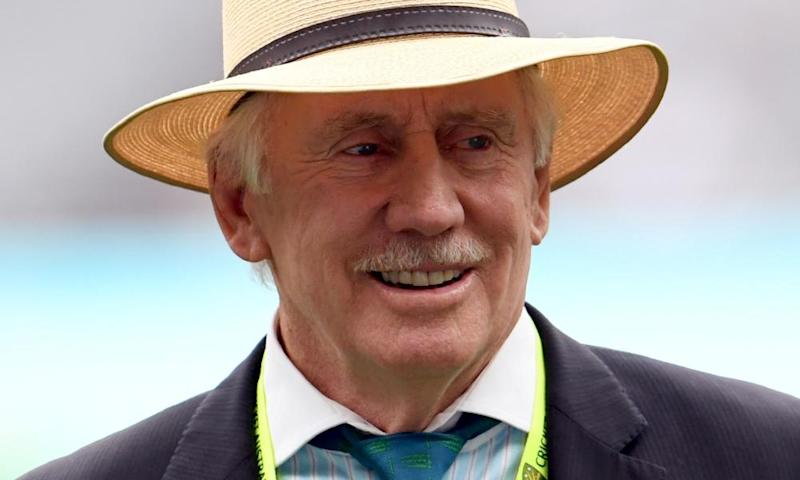 Former cricket great Ian Chappell joined other prominent Australians, including Peter Garret and Tim Winton, asking for Adani to abandon its mine project.