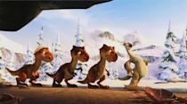 """<p class=""""MsoNormal"""">9. ICE AGE - $568,080,573</p><p class=""""MsoNormal""""><br> <a href=""""http://movies.yahoo.com/movie/1810004564/info"""" data-ylk=""""slk:Ice Age: Dawn of the Dinosaurs"""" class=""""link rapid-noclick-resp"""">Ice Age: Dawn of the Dinosaurs</a> (2009) - $196,363,405 <a href=""""http://movies.yahoo.com/movie/1808751386/info"""" data-ylk=""""slk:Ice Age: The Meltdown"""" class=""""link rapid-noclick-resp""""><br>Ice Age: The Meltdown</a> (2006) - $195,329,763 <a href=""""http://movies.yahoo.com/movie/1805540029/info"""" data-ylk=""""slk:Ice Age"""" class=""""link rapid-noclick-resp""""><br>Ice Age</a> (2002) - $176,387,405</p>"""