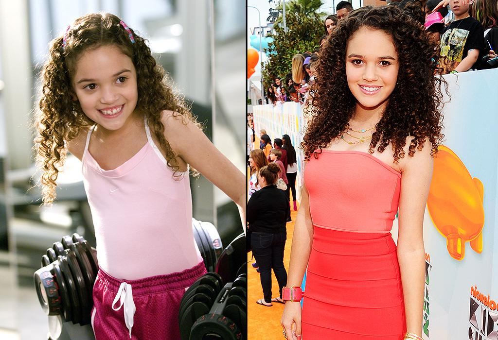 "MADISON PETTIS<br>First Movie: Age 9. Playing the precocious ballet-loving Peyton Kelly opposite <a href=""http://movies.yahoo.com/person/dwayne-johnson/"">Dwayne ""The Rock"" Johnson</a> in Disney's ""<a href=""http://movies.yahoo.com/movie/the-game-plan/"">The Game Plan</a>."" Now 14, Pettis rocked the red (actually, make that orange) carpet at the 2012 Nickelodeon Kids' Choice Awards. Pettis has become a formidable vocal actress, lending her talents to ""Jake and the Never Land Pirates"" and ""Beverly Hills Chihuahua 2.""<br><br>Click ahead to see more former child stars grown up."