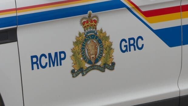 RCMP say the victim of the hit and run was taken to hospital by ambulance with life-threatening injuries. (Laura Meader/CBC - image credit)