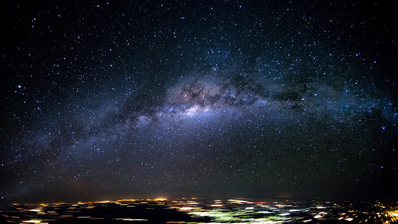 <p>The Milky Way over Brazil. (Photo: Christiaan van Heijst/Caters News) </p>