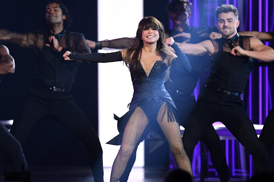 LAS VEGAS, NEVADA - MAY 01: Paula Abdul performs onstage during the 2019 Billboard Music Awards at MGM Grand Garden Arena on May 01, 2019 in Las Vegas, Nevada. (Photo by Kevin Winter/Getty Images for dcp)