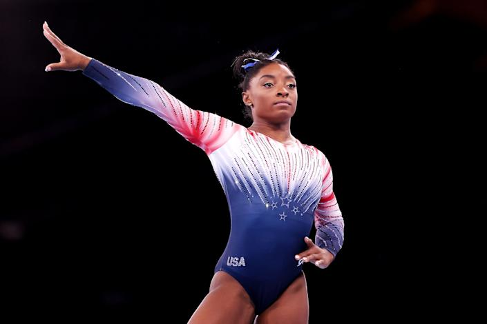 Image: Simone Biles (Laurence Griffiths / Getty Images)