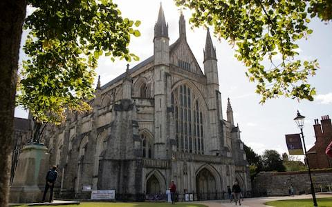 Winchester cathedral - Credit: Christopher Pledger