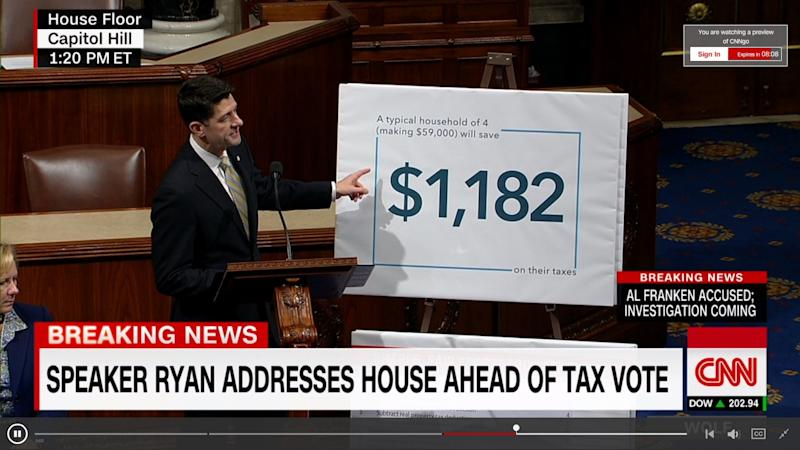 Paul Ryan GOP Tax Reform