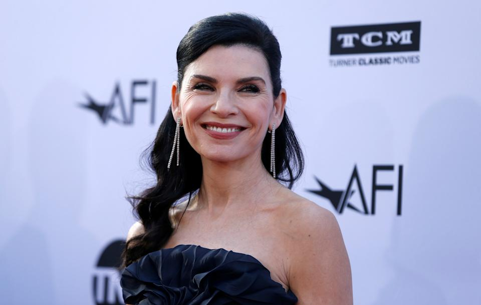 Actor Julianna Margulies poses at the 46th AFI Life Achievement Award Gala in Los Angeles, California, U.S., June 7, 2018. REUTERS/Mario Anzuoni