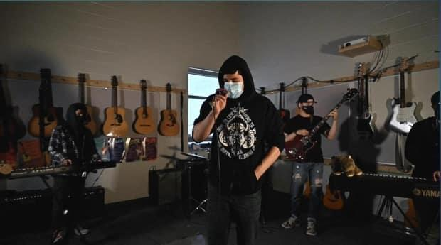 The music video for the song was filmed at two different high schools. (Brandon White - image credit)