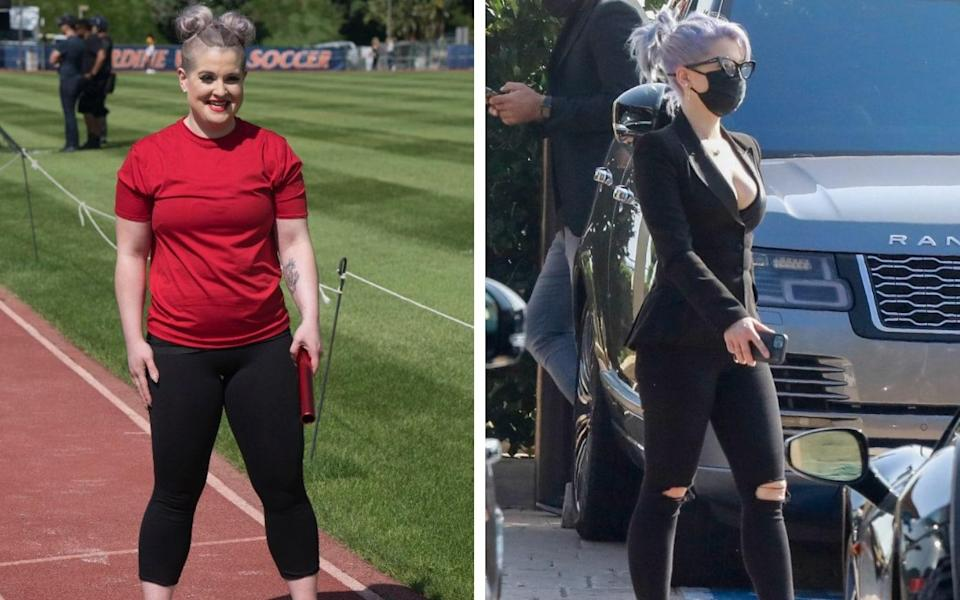 Kelly Osbourne has showcased her dramatic weight-loss  - Walt Disney Television/ Backgrid