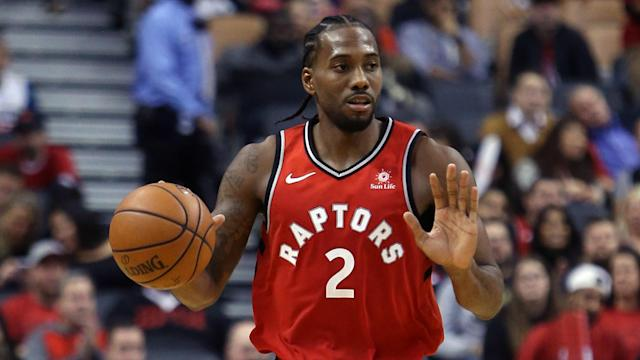 Toronto Raptors star Kawhi Leonard will be sidelined for at least one game due to injury.