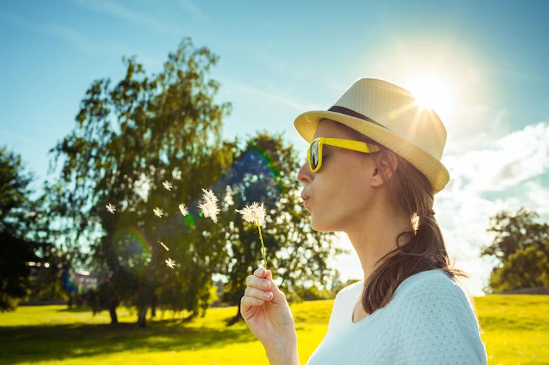 Hay fever wipes are here to save your summer [Photo: Getty]
