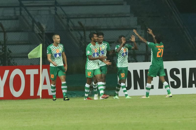 Maziya celebrate win over Mohun Bagan