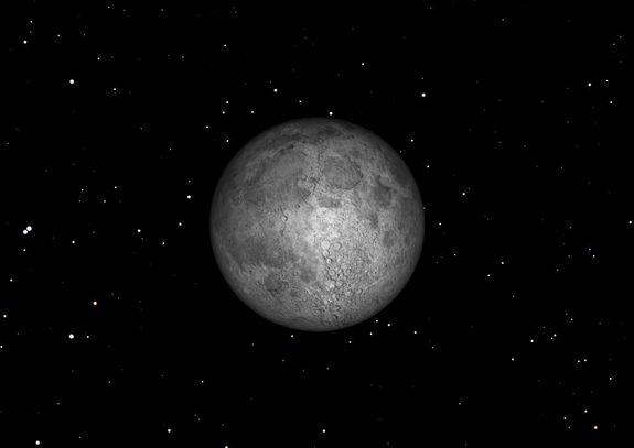 The first full moon of 2013 will occur on Saturday, Jan. 26.