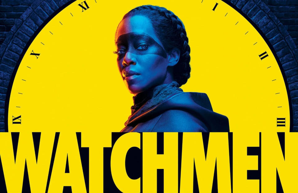 Poster art for the 2019 'Watchmen' series. (Credit: HBO)