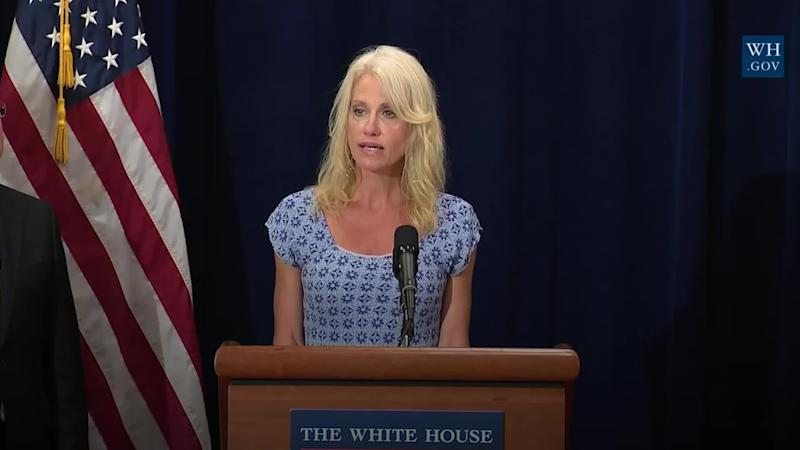 Senior Trump aide Kellyanne Conway to leave White House