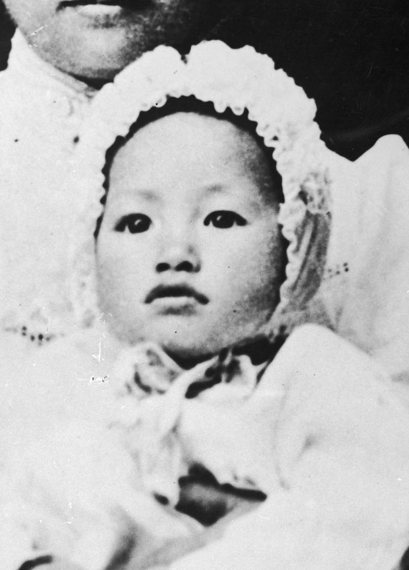 Anna May Wong as a child (Getty Images)