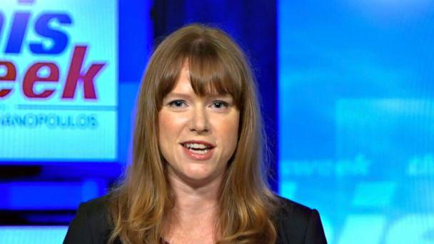 PHOTO: Biden deputy campaign manager and communication director Kate Bedingfield is interviewed on 'This Week,' August 23, 2020. (ABC )