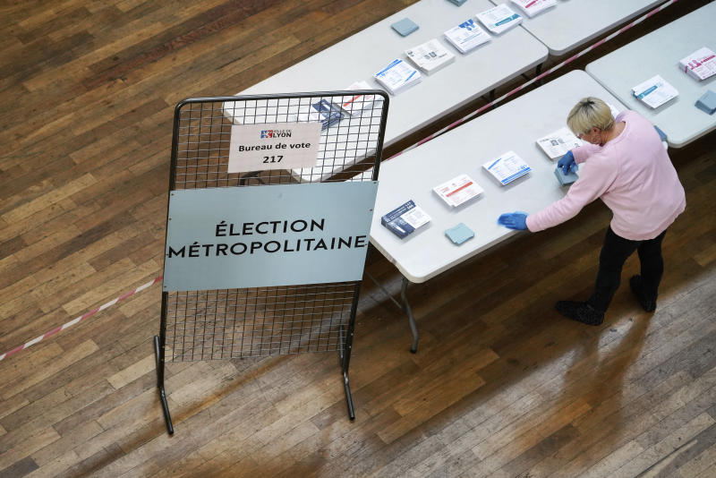 France Virus Outbreak elections
